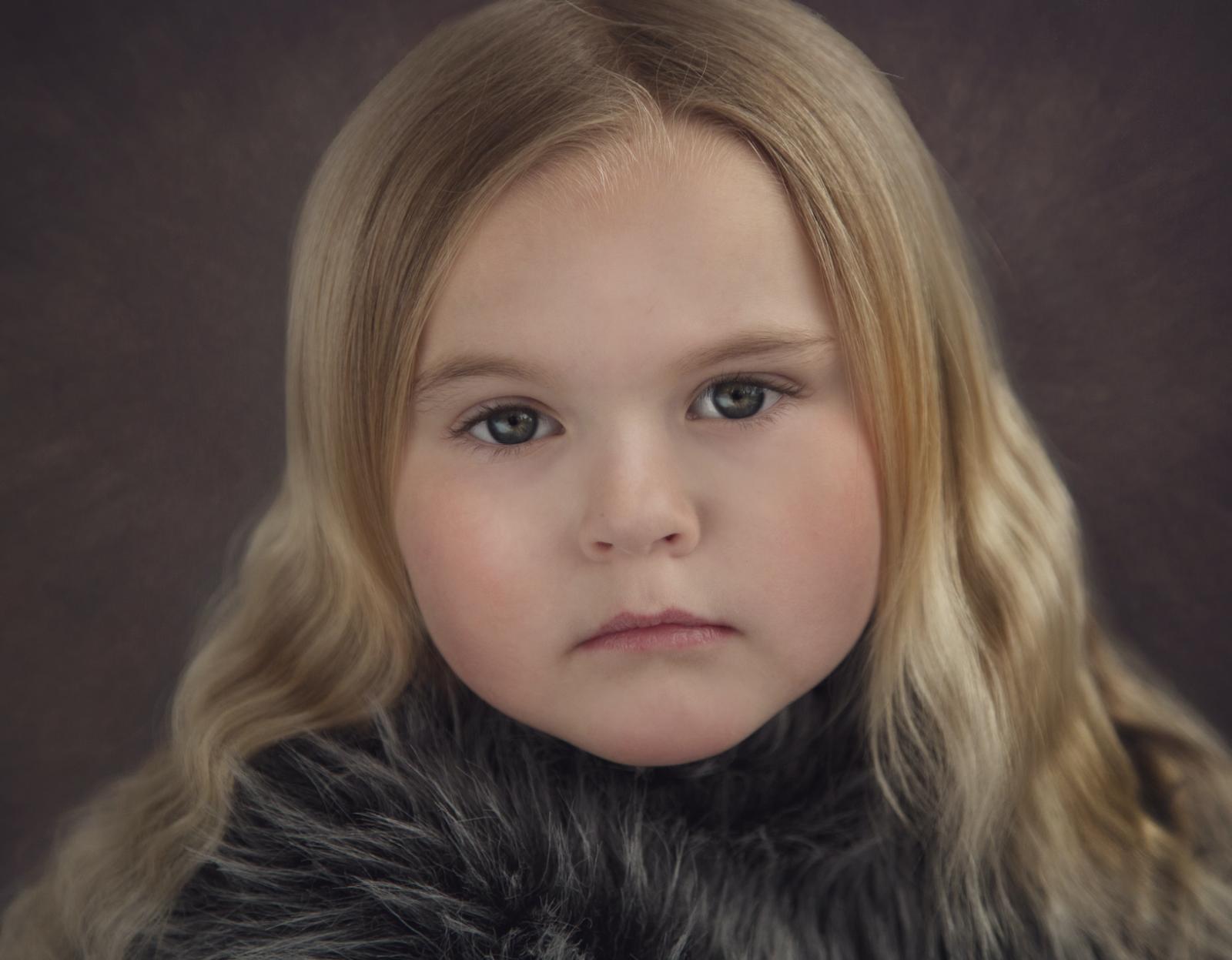 Fineart porträtt