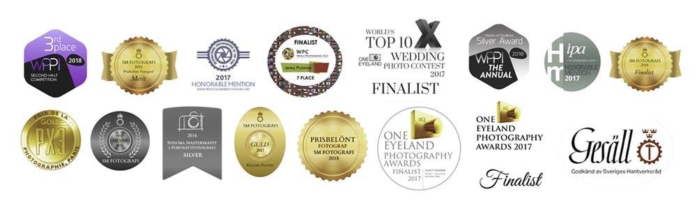 Awards Jenny Puronne prisbelönt fotograf