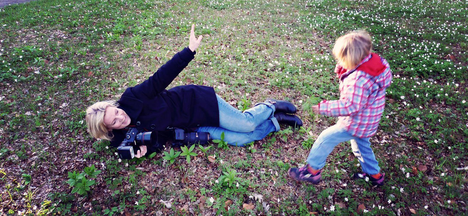 Fotografering i Tyresö slottspark
