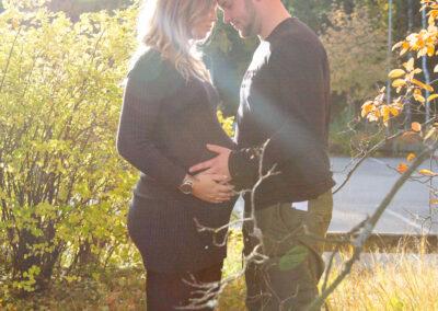 Gravidfotografering utomhus
